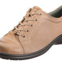 ECCO Women's Clay Tie Lace-Up Flat