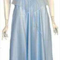 Blue Vintage Disco Queen 70s Dress