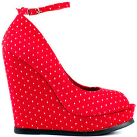 Restricted's Multi-Color Sugar - Red for 59.99 direct from heels.com