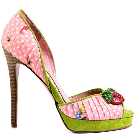Cece Lamour's Multi-Color Juls - Pink Multi for 149.99 direct from heels.com