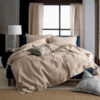 Comfort Wash Solid Linen Comforter Cover / Duvet Cover | The Company Store