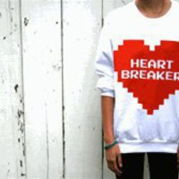 HEARTBREAKER CREW FLEECE SWEATSHIRT