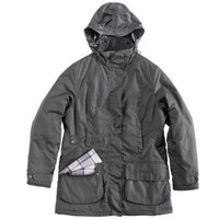 Barbour Ladies Linley Waxed Jacket, Black