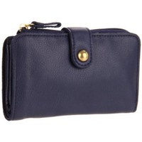 Linea Pelle  Dylan Wallet,Midnight,One Size
