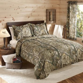 Real Tree Camo 3-pc. Reversible Comforter Set - Full