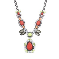 GS by gemma simone Birds of Paradise Collection Lark Statement Necklace