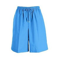 Plus Coral Bay Plus Twill Drawstring Shorts