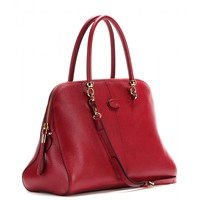 Bauletto Sella Medium leather tote
