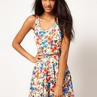 Love | Love Skater Dress With Belt at ASOS
