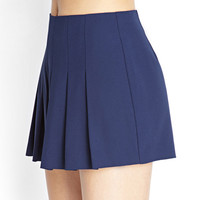 Pleated Woven Shorts