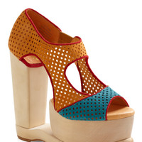 Jeffrey Campbell Bridge Over Doubled Platforms Heel | Mod Retro Vintage Heels | ModCloth.com