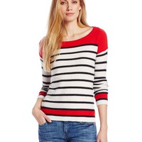 Splendid Women's Pop Stripe Sweater