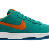 Nike Dunk Low NFL Miami Dolphins iD Custom