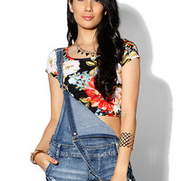 Papaya Clothing Online :: FLORAL CROP-TOP