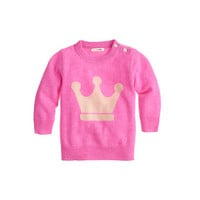 BABY CASHMERE SWEATER IN CROWN