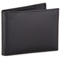 Hartmann Capital Leather Billfold W/Id,Black,One Size
