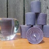 lavender candles, ecofriendly gift, handpoured votive, free USA shipping