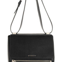 Givenchy | Medium Pandora Box bag in black leather | NET-A-PORTER.COM