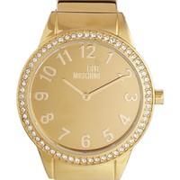 Moschino Cheap And Chic Hold Me Gold Watch