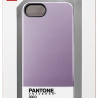 Trendy Pantone Universe Clip on Case for iPhone 5/5S by Case Scenario - Lavender Foil
