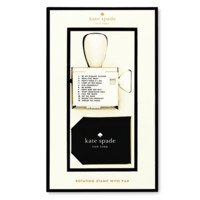 Kate Spade Stamp and Pad Set
