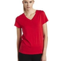 HUE Womens V Neck Sleep Tee