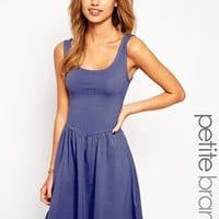 New Look Petite Ballerina Sleeveless Skater Dress