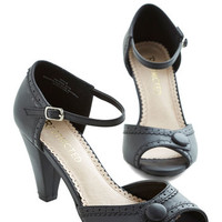 Marvelous Maven Heel in Black