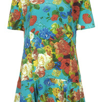 BOTANICAL FLIPPY DRESS BY BOUTIQUE