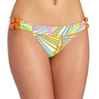 Trina Turk Women&#x27;s Deco Palms Buckle Side Hipster