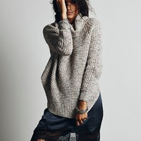 Free People Dylan Tweedy Pullover