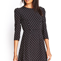 Polka Dot & Lace Dress