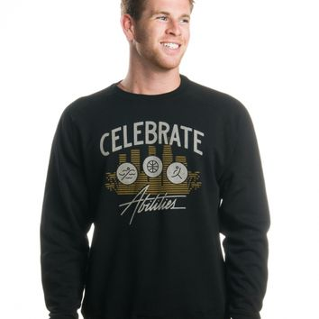 """Celebrate Abilities"" Men's Sweatshirt"