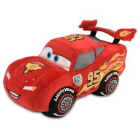 Cars 2 Lightning McQueen Plush Toy -- 13'' H | Plush | Disney Store