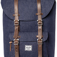 The Little America Backpack in Denim Indigo