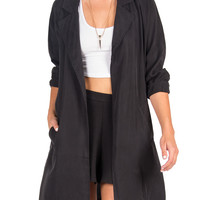 LUSH CLOTHING - OVERSIZED LIGHTWEIGHT COAT