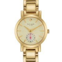 kate spade new york 'gramercy mini' bracelet watch, 24mm | Nordstrom