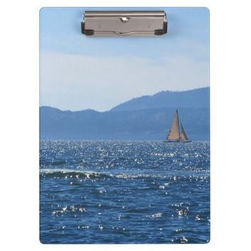 Sailboat Clipboard
