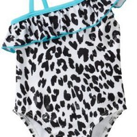 Flapdoodles Baby-girls Infant Leopard Chic One Piece Suit