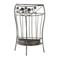 Antique Look Metal Umbrella Stand Entry Hallway Decor