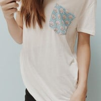 IEVA SHELL POCKET TEE