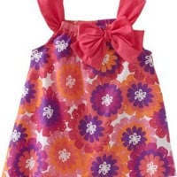 Carters Baby-Girls Infant Floral Print With Bow Sundress