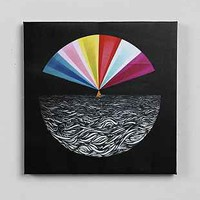 Mark Warren Jacques In The Deep Sea Stretched Canvas Print - Urban Outfitters