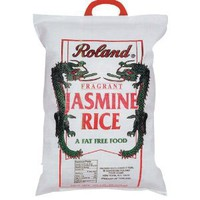 Roland Premium Jasmine Rice from Thailand, 20-Pound Bag