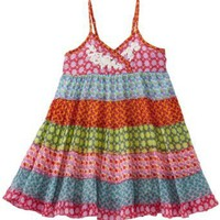 Mimi & Maggie Baby-girls Infant Scattered Flowers Dress