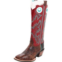 Ariat Women`s Brushrider Boot,Adobe Fire/Deep Red,8.5 5E US