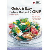 Quick & Easy Diabetic Recipes for One [Paperback]