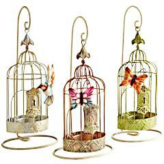 Product Details - Birdcage Tealight Holders