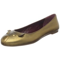 Marc by Marc Jacobs Women`s 6161923 Ballet Flat,Bronze Kid Skin,39 EU/9 B(M) US