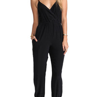 Twelfth Street By Cynthia Vincent Leather Strap Jumper in Black